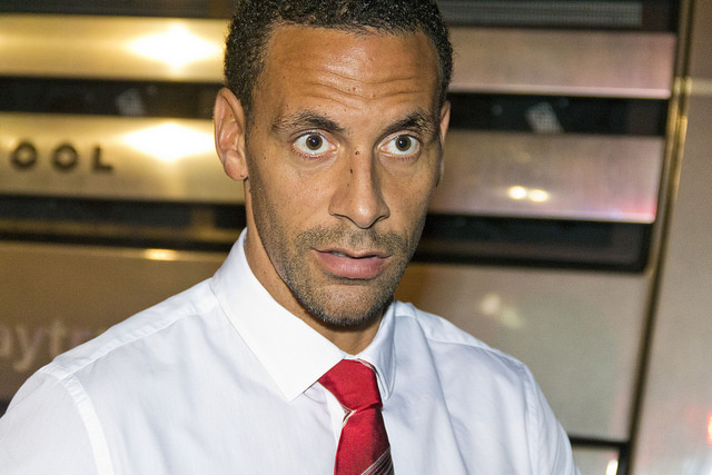 Ferdinand suspended and fined over Twittercomment