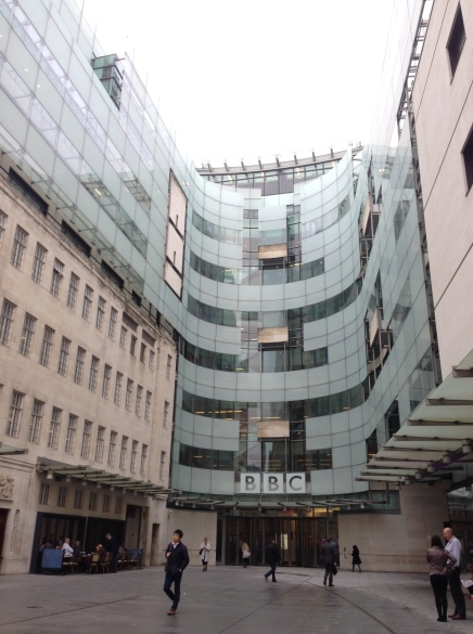 The BBC: The Ideal NewsroomSet-up