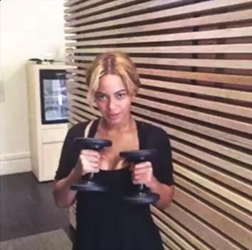 Beyoncé responds to Michelle Obama's #GimmefiveCampaign
