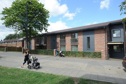 Eco-friendly homes provide hope for Ealing housing shortage