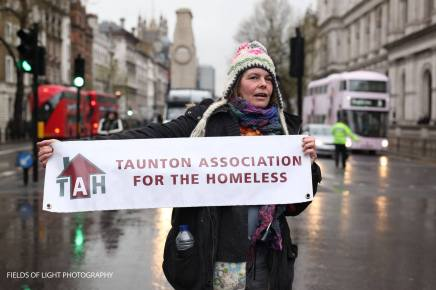 March with the Homeless