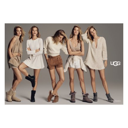 Five new ways to fall in love with UGG this Fall stars Rosie Huntingdon-Whiteley